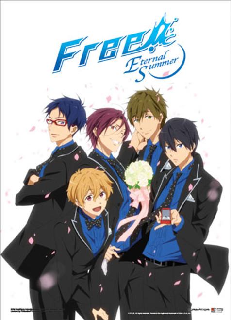 Free! 2 - Main Characters In Formal Wear Wall Scroll