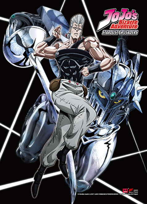 JoJo's Bizarre Adventure Jean Pierre Polnareff Wall Scroll