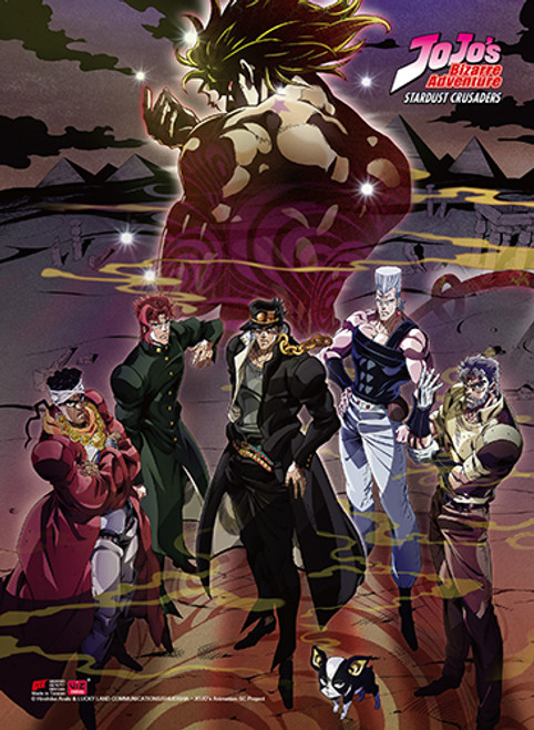 JoJo's Bizarre Adventure Jotaro vs Dio Wall Scroll - Stella's Belle