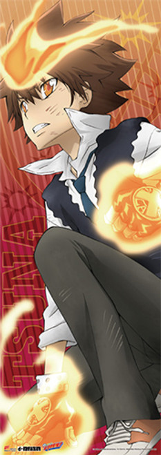 "Reborn Tsuna 67"" Wall Scroll"
