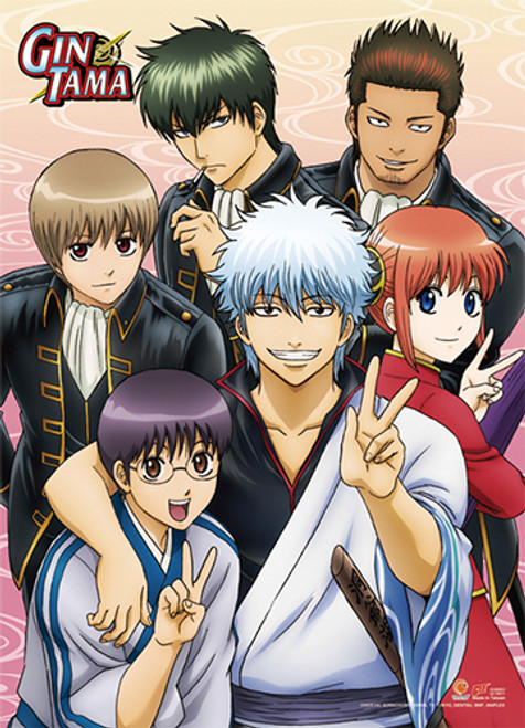 Gintama S3 - Yorozuya And The Goverment Wall Scroll