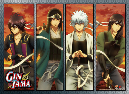 Gintama S3 - Swordsmen Wall Scroll