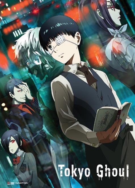 Tokyo Ghoul Ken, Shuu, and Touka Wall Scroll