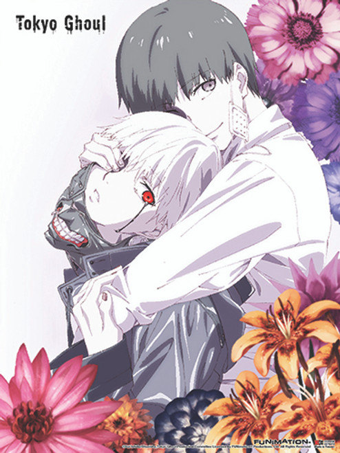 Tokyo Ghoul Ken, and Haise Wall Scroll