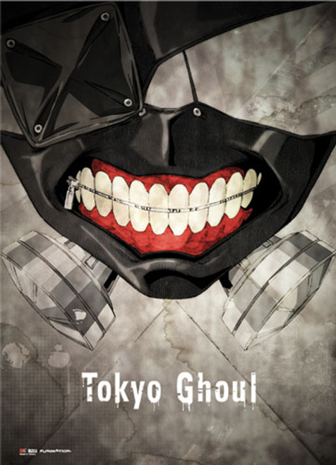 Tokyo Ghoul Ken's Mask Wall Scroll