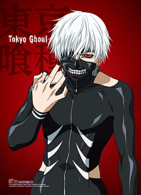 Tokyo Ghoul Ken In Battle Suit With Mask Wall Scroll