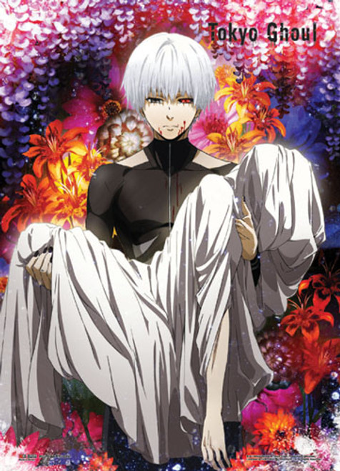Tokyo Ghoul Ken Carrying A Body Wall Scroll
