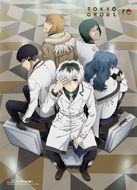 Tokyo Ghoul Quinx Squad Wall Scroll