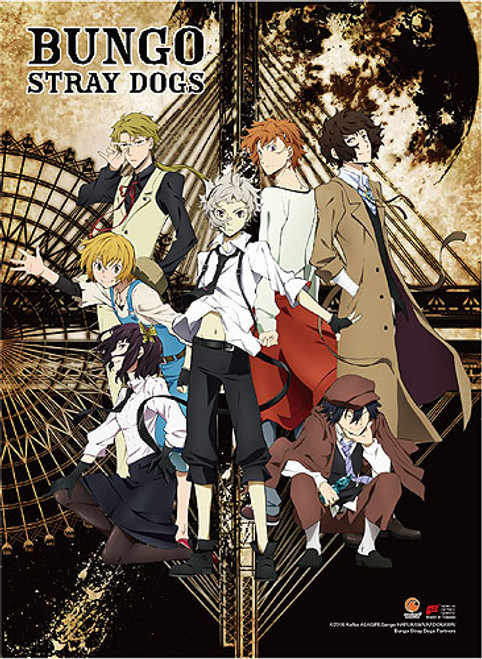 Bungo Stray Dogs - Armed Detective Agency Key Art High End Wall Scroll