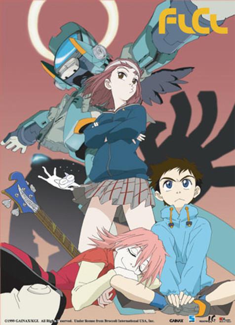FLCL - Haruko, Naoka, And Mamimi Wall Scroll