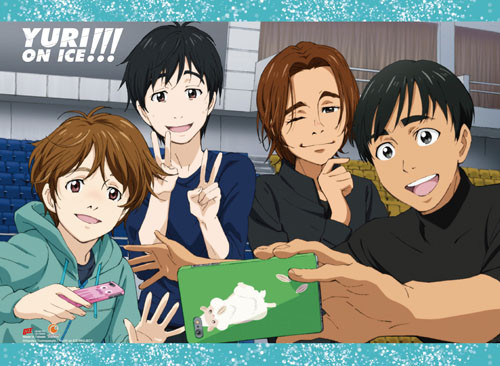 Yuri On Ice Phichit Taking A Picture Wall Scroll