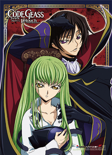 Code Geass - Lelouch And C.C. Wall Scroll