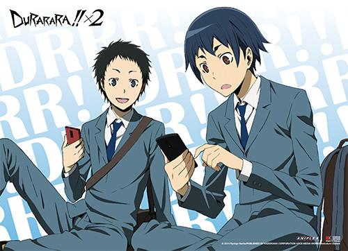 Durarara!! X2 - Mikado And Aoba Wall Scroll