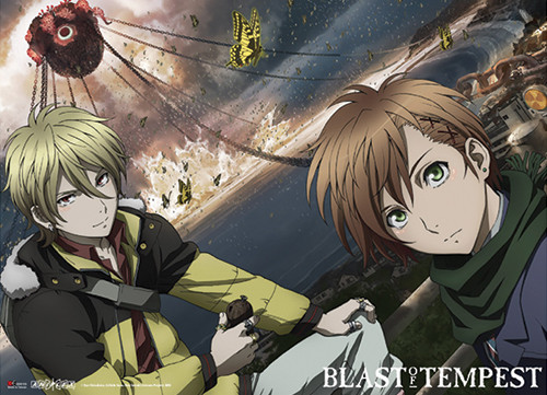 Blast Of Tempest - Yoshino, Mahiro, And The Tree Of Zetsuen Wall Scroll
