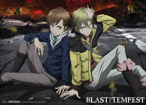 Blast Of Tempest - Yoshino And Mahiro Wall Scroll