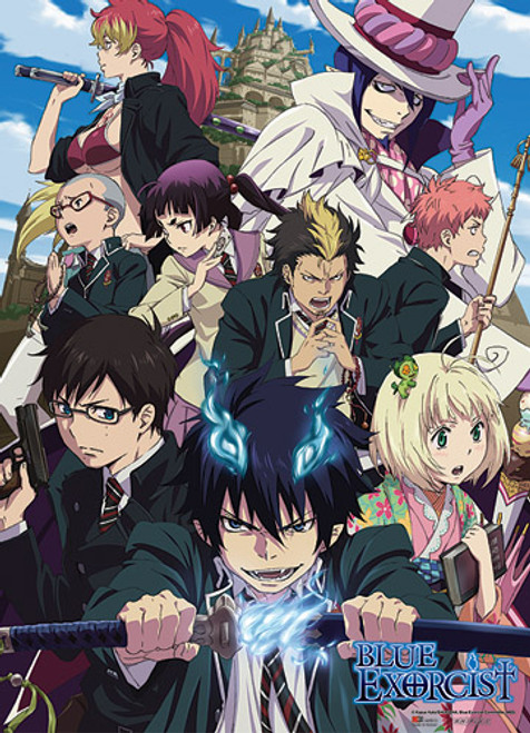 Blue Exorcist - Exwires And Exorcists Wall Scroll