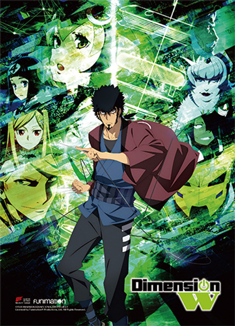 Dimension W - Kyoma And Mira Key Art Wall Scroll