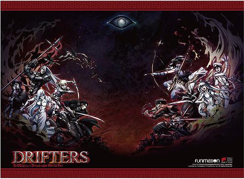Drifters - Big Battle Key Art High End Wall Scroll