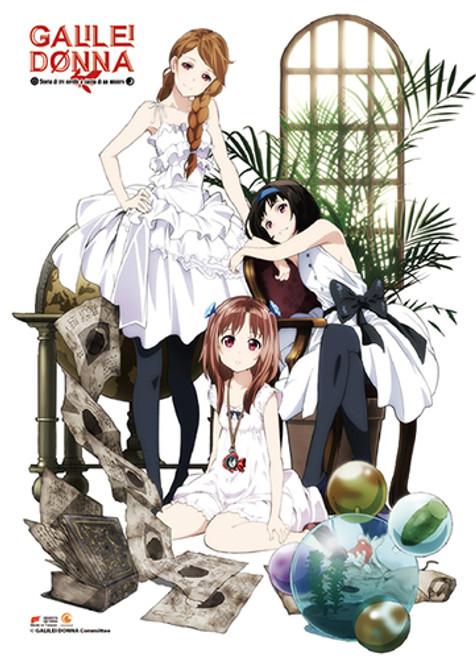 Galilei Donna - Hazuki, Kazuki, And Hozuki Wall Scroll