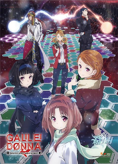 Galilei Donna - Hazuki, Kazuki, Hozuki, Anna, Roberto, And Cicinho Wall Scroll