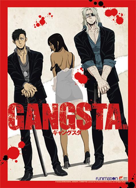 Gangsta - Alex, Worick, And Nicolas Wall Scroll