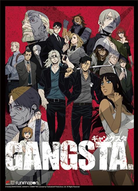 Gangsta - Alex, Worick, Nicolas, Marco, and Loretta Key Art Wall Scroll