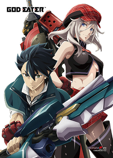 God Eater - Alisa And Lenka Wall Scroll