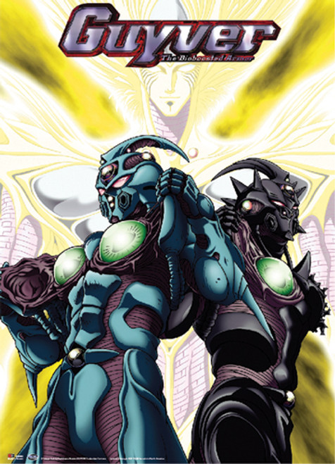 Guyver - Number 1, Number 3, And Archanfel Wall Scroll