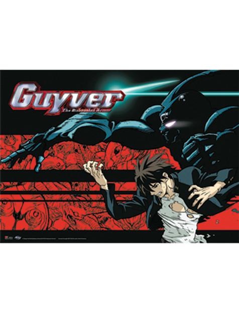 Guyver - Sho And Guyver 1 Wall Scroll