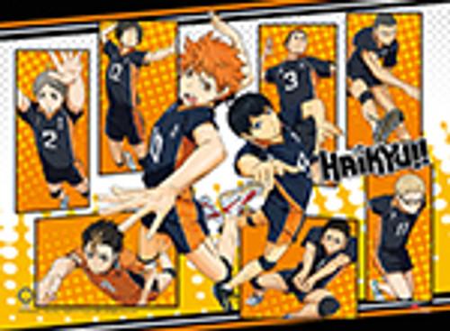 Haikyuu!! - Shoyo, Kageyama, Yu, Koshi, And Kei High End Wall Scroll