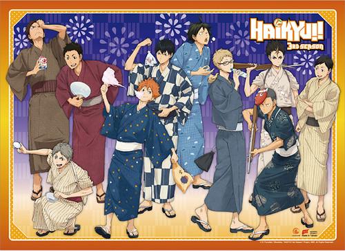 Haikyuu!! - Karasuno High At The Festival Wall Scroll
