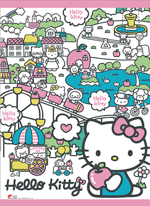 4d1b18109 Anime Merchandise & Collectibles - Wallscrolls - Hello Kitty ...