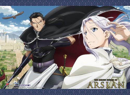 Heroic Legend of Arslan Daryun,  Arslan, and Azrael Wall Scroll