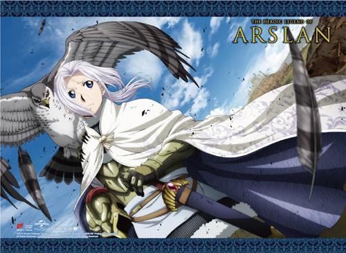 Heroic Legend of Arslan Azrael, and Arslan Wall Scroll