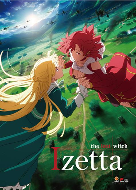 Izetta The Last Witch Izetta, and Fine Wall Scroll