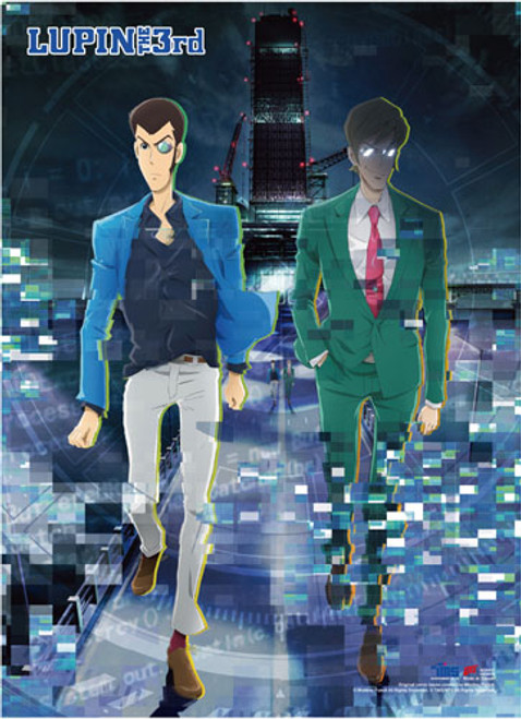 Lupin The Third Lupin, and Albert Wall Scroll