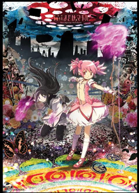 Madoka Magica Madoka, and Akemi Wall Scroll