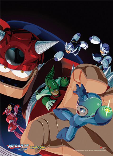 Mega Man Group 2 Wall Scroll