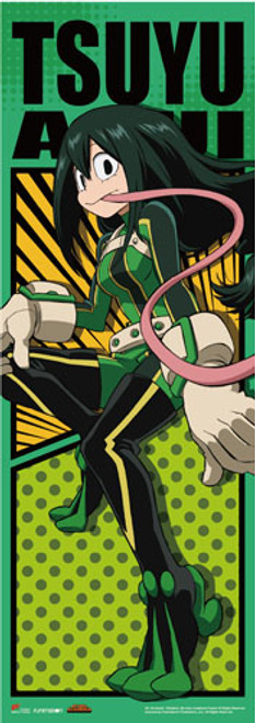 "My Hero Academia - Froppy (Tsuyu Asui) In Her Hero Costume 67"" Wall Scroll"