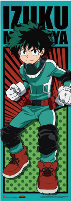 "My Hero Academia - Deku (Izuku Midoriya) In His Hero Costume 67"" Wall Scroll"