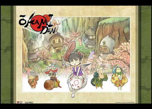 Okami Group 2 Wall Scroll