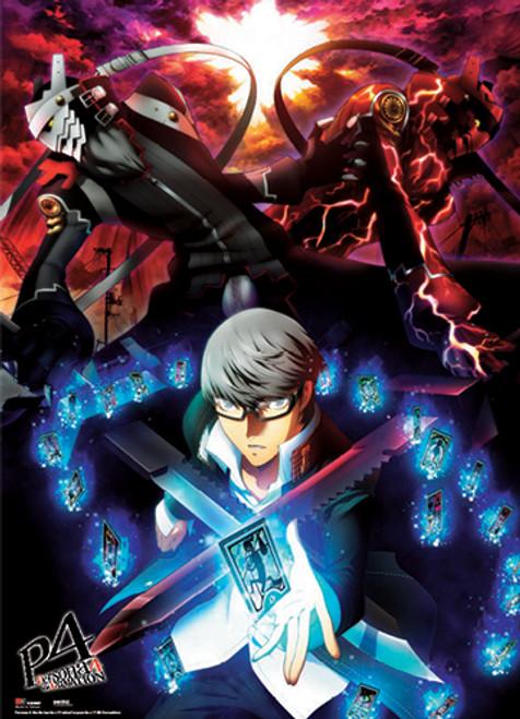 Persona 4 Yu, and Izanagi Wall Scroll