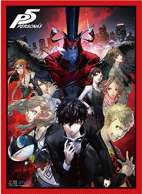 Persona 5 Group High End Wall Scroll