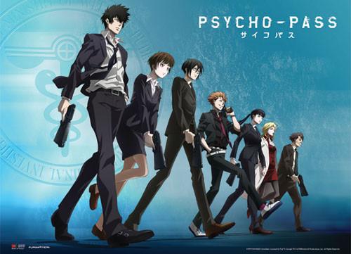 Psycho-Pass Group Wall Scroll