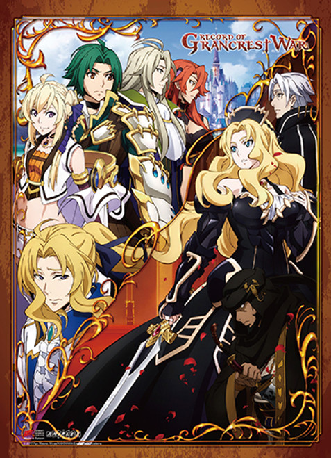Record of Grancrest War Group Wall Scroll
