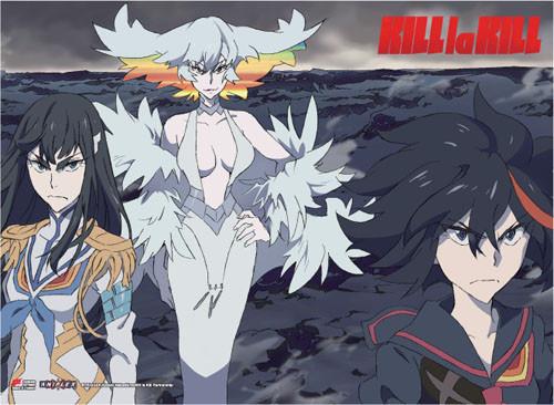 Kill la Kill Ryuko, Satsuki, and Ragyo Wall Scroll