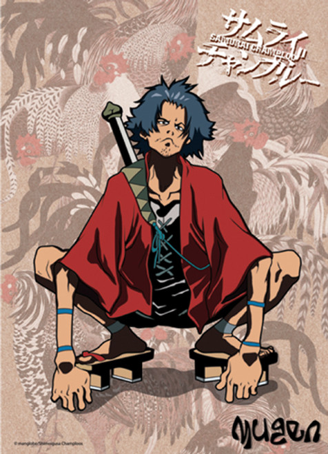 Samurai Champloo Mugen Crouching Wall Scroll