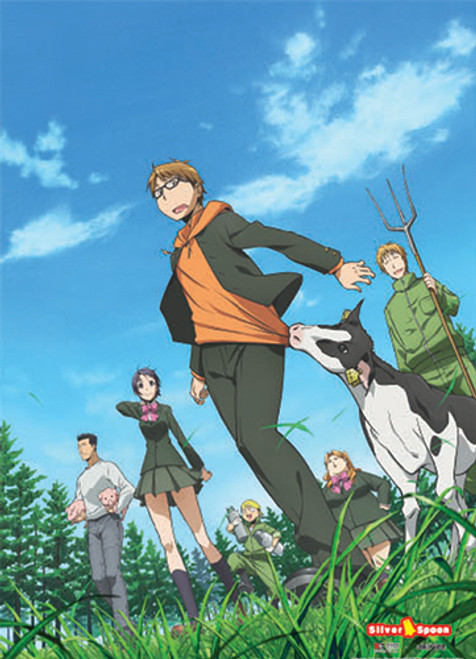 Silver Spoon Group Wall Scroll