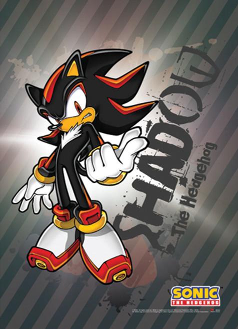 Sonic The Hedgehog Shadow Posing Wall Scroll