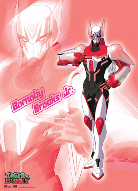 Tiger and Bunny Brooks Posing Wall Scroll
